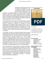 Antropología - Wikipedia, La Enciclopedia Libre