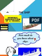 Parts of a Vessel