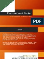 empowerment center homeless presentation