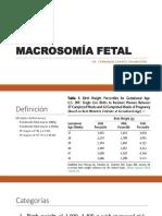 Macrosom a-fetal