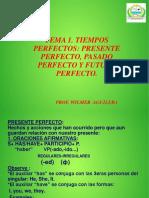 Tiempos Verbales Perfectos-5to Tema 1