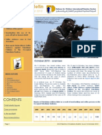 DCI-Palestine's monthly bulletin on child rights violations.