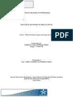 Diseño lógico base de datos