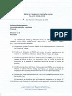 Reforma de Ampliacion de Garantia de Establilidad Laboral de La Mujer Embarazada.
