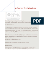 Application Server Architecture