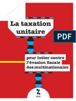 La taxation unitaire pour lutter contre l'évasion fiscale des multinationales