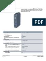 SIMATIC ET 200SP, analog HART input module