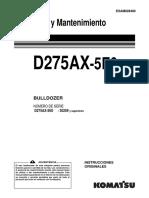 Bulldozer d275a manual.pdf