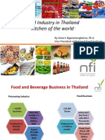 Amorn Ngammongkolrat - Food Industry in Thailand1