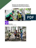REALIZAN JORNADA DE REFORESTACIÓN Y LIMPIEZA EN DIVERSOS PUNTOS DE PUERTO MORELOS