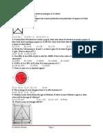 PUCIT Entry Test Mcqs