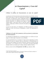 Estructura de Financiamiento y Costo Del Capital
