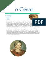 27 Biografía Julio Cesar