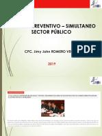 Control Preventivo - Simultaneo 2019