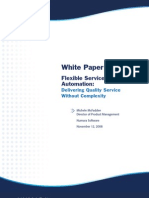 Flexible Service Desk Automation Whitepaper