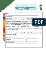 PRIMARIA-InICIAL24-Acta de Inicio de Actividades Escolares