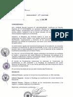 Resolución 104-2019-PJNE Compromiso de Ecoeficiencia Un JNE Sostenible