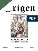 Revista Origen.