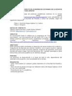CONVOCATORIA DE PRÁCTICAS ACADÉMICAS EXTERNAS EN LA REVISTA INTERNACIONAL LITTERA APERTA
