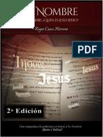 Su Nombre Jesus-yeshua Segunda Revisión 2018 (1)