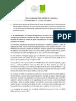 AGRICULTORES SE MANIFIESTAN FRENTE AL CONGRESO, POR REFORMA AL CÓDIGO DE AGUAS
