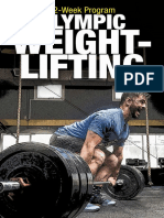 12 Week Olympic Weightlifting Program