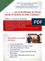 TerapiaPareja J Gottman. E Valencia