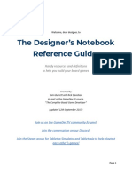 The Designer's Notebook Reference Guide - Documentos Google