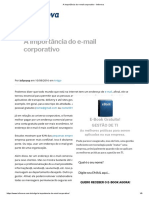 A Importância Do E-mail Corporativo - Infonova