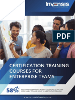 CERTIFICATION TRAINING COURSES - Brochure Portrait