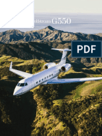 Gulfstream G550 Specifications Sheet