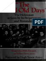 Ernst Klee, The Good Old Days.the Holocaust as Seen by Its Perpetrators and Bystanders-Konecky & Konecky (1991)