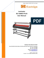 Lamintor BU-1600CII PLUS User Manual