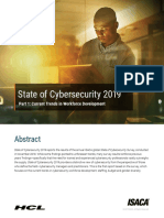 State of Cybersecurity 2019 Part 1 Res Eng 0319