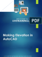 Making Elevation in AutoCAD