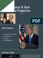 George W. Bush _ the Prodigal Son (1)