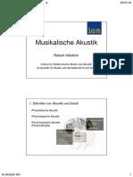 Musikalische Akustik Kap 1 4