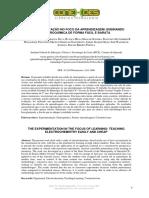 A Experimentação No Foco Da Aprendizagem- Ensinando Eletroquímica de Forma Fácil e Barata