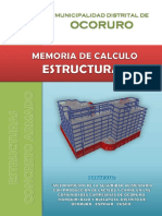 4.2.1 Memoria de Calculo - Ocoruro Pro
