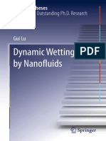 Dynamic Wetting by Nanofluids-Gui Lu (auth.)