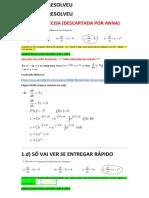 Lista 2 Edo1 Solução v Com Questões 1 2 e 3 Completas 11h44 17mar19