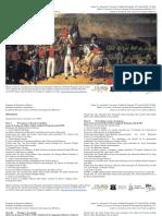 Programa del Coloquio de Doctorandos de Historia,  2018