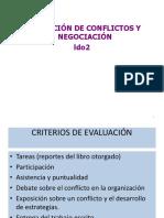 Presentacion Resolucion de Conflictos LDO 2