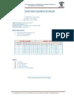 Analisis Fisico Quimico de Aguas 2