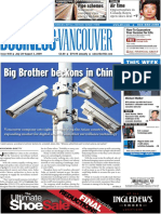 Business in Vancouver newspaper July 28, 2009 - edition No. 1031