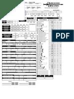 Ficha D&D 3.5 - Ladino-Guerreiro