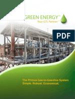 Primus Green Energy Gasoline Brochure 2