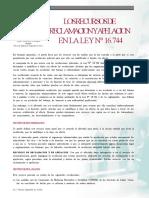 Los Recursos de Reclamacion y Apelacion de La Ley 16744