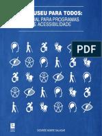 Um museu para todos. manual para programas de acessibilidade