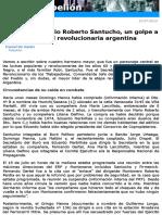 Rebelion. La caída de Mario Roberto Santucho, un golpe a la unidad revolucionaria argentina